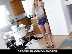 DadCrush - Quickie With Step-Daughter Before Wife Walks In