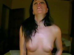 Girl Rides to Orgasm
