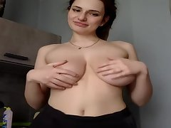 Amazing Babe fro Big and Out-and-out Natural Tits