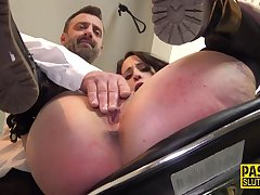 Whipped and bound sub - amulet BDSM porn