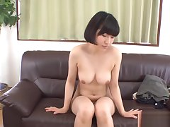 Ill asian blowjob and shaving