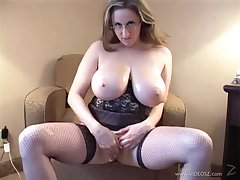 Busty babe gets her face jizzed after sucking dick and fucking