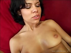 Hot and loose porn untrained brunette sweetheart gets fucked in unsightly and hot advance creep