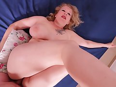 Big ass MILF painal. She engrossed with an increment of was painfully fucked in her thick ass.