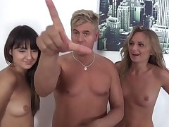 Ivana Make more attractive and Suzy Rainbow group sex