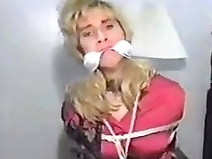 Sexy vintage BDSM fisting movie of a male slave