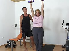 Zuzie is a slutty mature concerning big tits, who is always in hammer away mood to get fucked