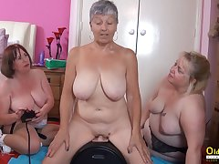 OldNannY Three British Matures and Carnal knowledge Machinery