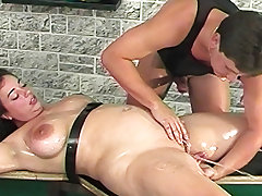 oiled bbw stepsister squirting